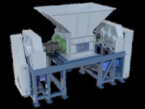 Шредер двухвальный PZO SHR-600D2M